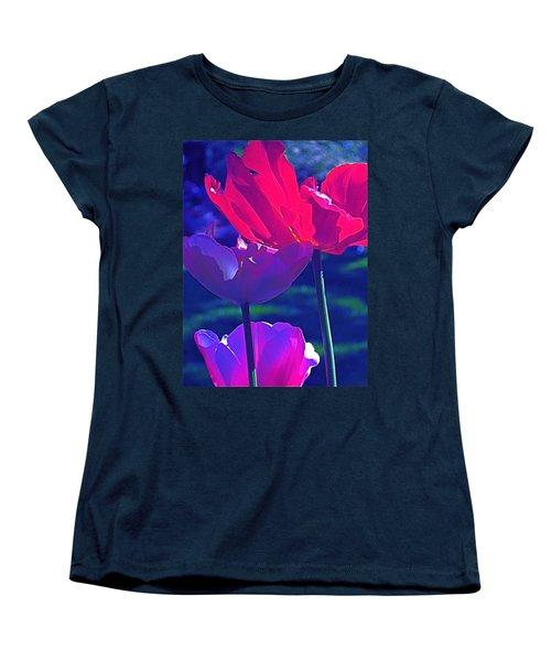 Tulip 3 Women's T-Shirt (Standard Cut) by Pamela Cooper