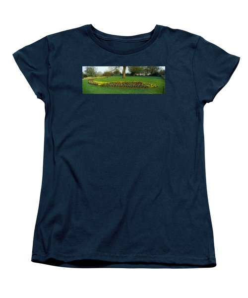 Tulips In Hyde Park, City Women's T-Shirt (Standard Cut) by Panoramic Images