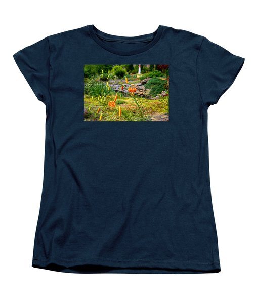 Women's T-Shirt (Standard Cut) featuring the photograph Turk's Cap Lily by Kathryn Meyer