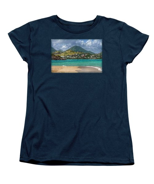 Women's T-Shirt (Standard Cut) featuring the photograph Turquoise Paradise by Hanny Heim