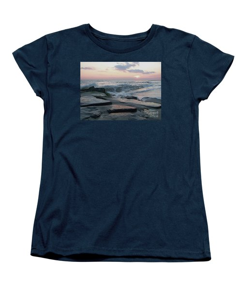 Twilight At Cape May In October Women's T-Shirt (Standard Cut) by Eric  Schiabor