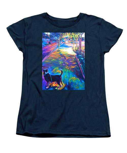 Scout At Twilight Women's T-Shirt (Standard Cut) by Bonnie Lambert