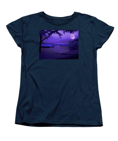 Twilight Zone Women's T-Shirt (Standard Cut) by Robert McCubbin