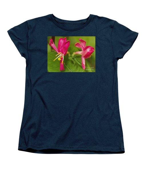 Women's T-Shirt (Standard Cut) featuring the photograph Twins by Sara  Raber