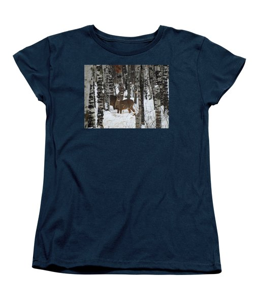 Two Are Better Than One Women's T-Shirt (Standard Cut) by James Peterson