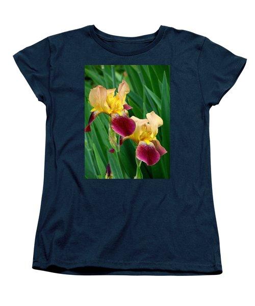 Two Iris Women's T-Shirt (Standard Cut)