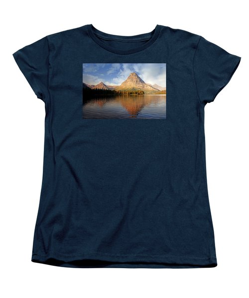Women's T-Shirt (Standard Cut) featuring the photograph Two Medicine by Marty Koch