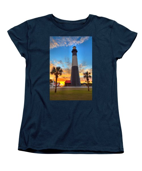 Tybee Island Sunrise Women's T-Shirt (Standard Cut)