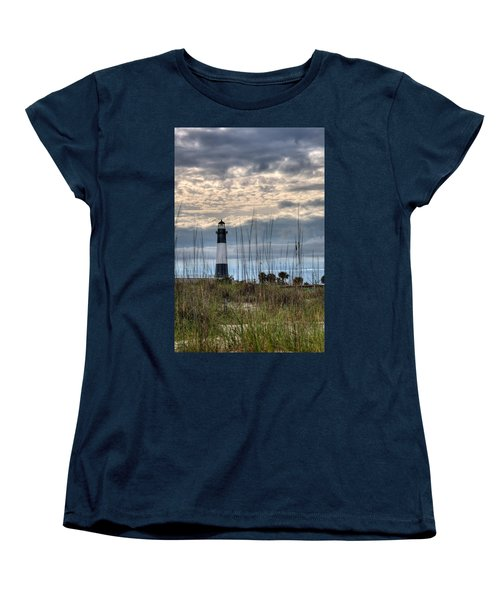 Tybee Light Women's T-Shirt (Standard Cut) by Peter Tellone