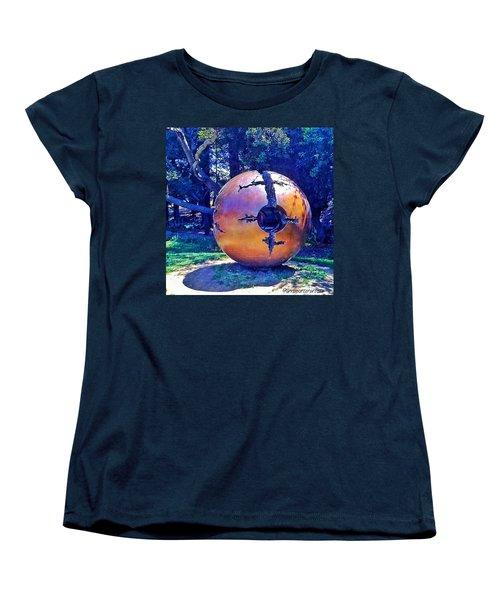 Uc Berkeley Orb For The Women's T-Shirt (Standard Cut) by Anna Porter