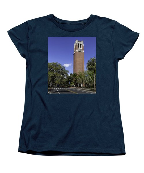 Uf Century Tower And Newell Drive Women's T-Shirt (Standard Cut) by Lynn Palmer
