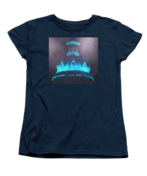 Ufo Dome Women's T-Shirt (Standard Cut) by Blue Sky