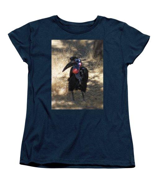 Ugly Bird Ball Women's T-Shirt (Standard Cut) by Donna Blackhall