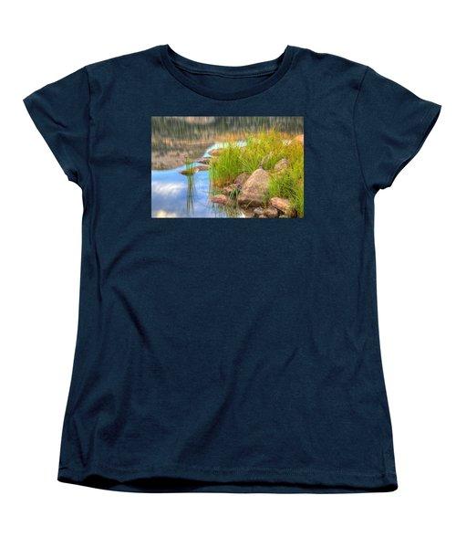 Uinta Reflections Women's T-Shirt (Standard Cut) by Dustin  LeFevre