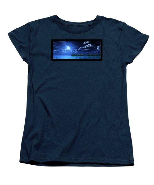 Under A Silvery Moon... Women's T-Shirt (Standard Cut)