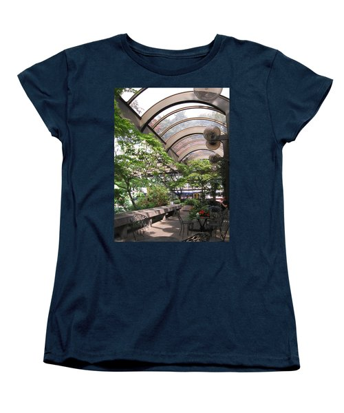 Under The Dome Women's T-Shirt (Standard Cut) by David Trotter