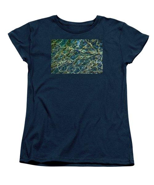 Underwater Roots Women's T-Shirt (Standard Cut) by Stuart Litoff