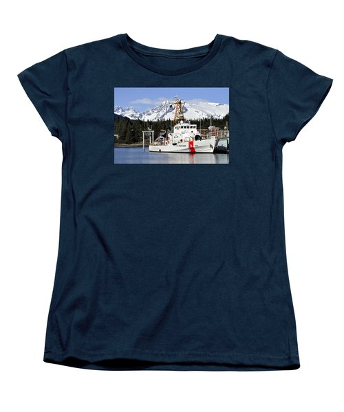 United States Coast Guard Cutter Liberty Women's T-Shirt (Standard Cut)