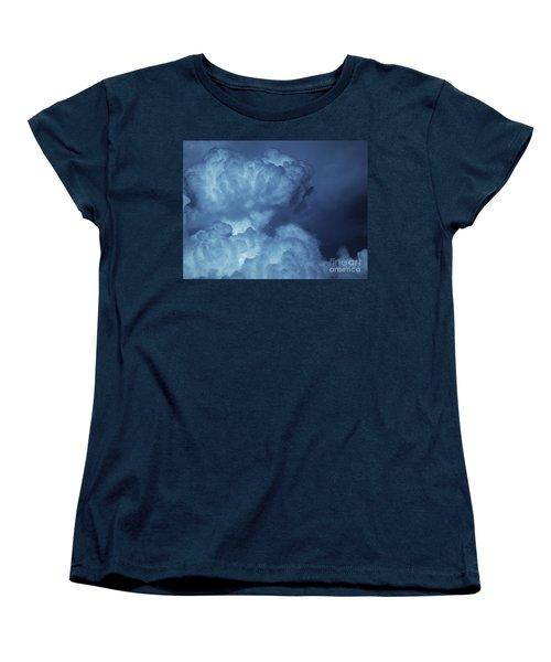 Women's T-Shirt (Standard Cut) featuring the photograph Unleashed by Ellen Cotton