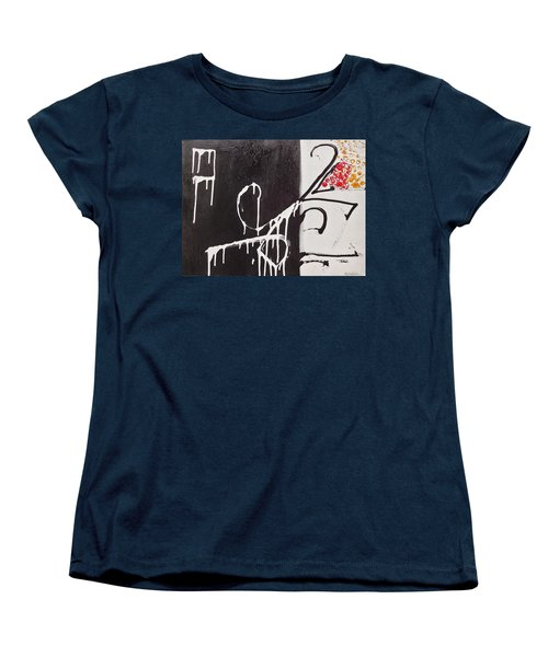 Women's T-Shirt (Standard Cut) featuring the painting Untitled # 1 by Jason Williamson