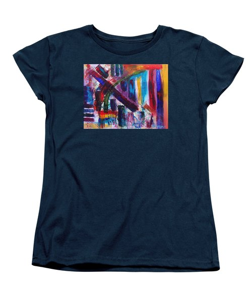Women's T-Shirt (Standard Cut) featuring the painting Untitled # 9 by Jason Williamson