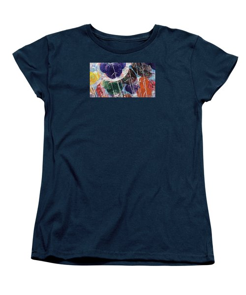 Women's T-Shirt (Standard Cut) featuring the painting Up At Walt's Place by Jeffrey S Perrine