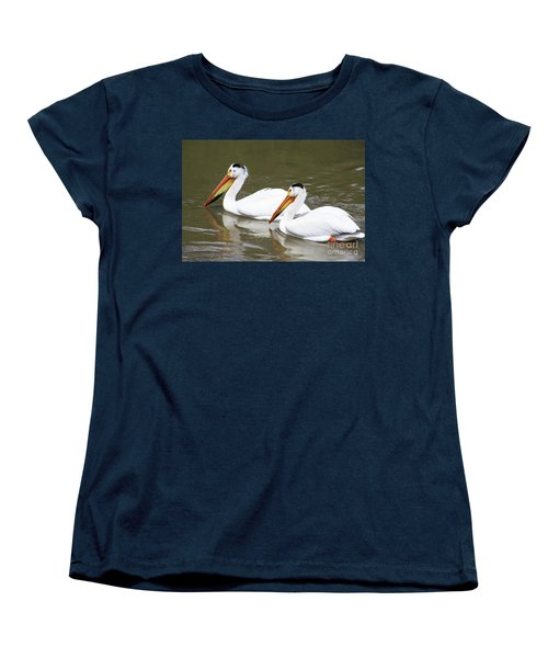 Women's T-Shirt (Standard Cut) featuring the photograph Up The Oldman by Alyce Taylor