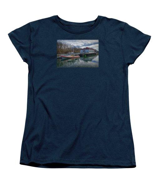 Usgs Castle Hill Station Women's T-Shirt (Standard Cut) by Joan Carroll