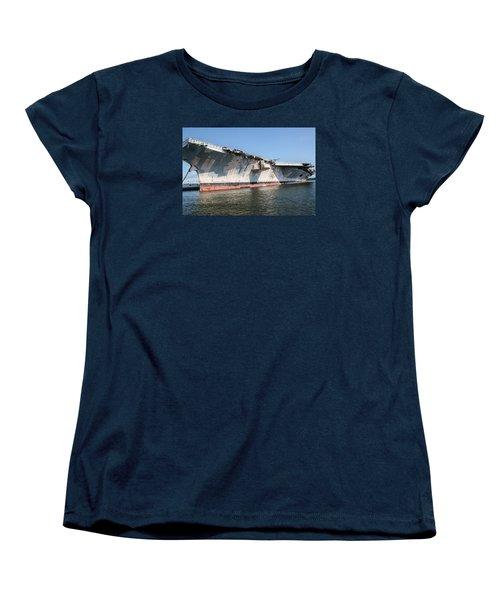 Uss John F. Kennedy Women's T-Shirt (Standard Cut) by Susan  McMenamin