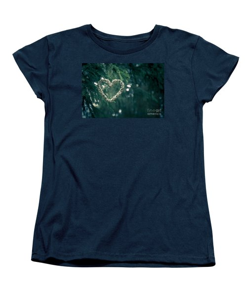 Valentine's Day In Nature Women's T-Shirt (Standard Cut) by Andreas Levi