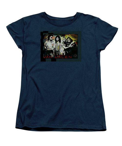 Van Halen - Ain't Talkin' 'bout Love Women's T-Shirt (Standard Cut) by Absinthe Art By Michelle LeAnn Scott