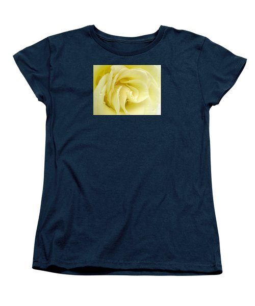 Vanilla Swirl Women's T-Shirt (Standard Cut) by Patti Whitten