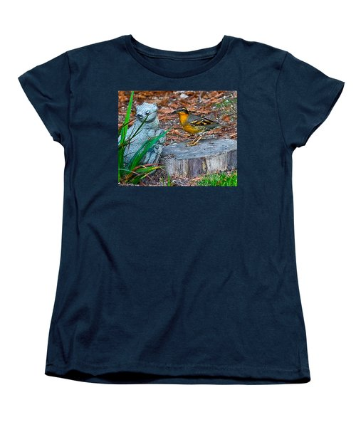 Women's T-Shirt (Standard Cut) featuring the photograph Vared Thursh by Brian Williamson