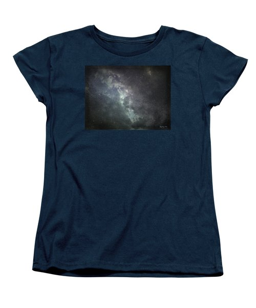 Women's T-Shirt (Standard Cut) featuring the photograph Vast Universe by Cynthia Lassiter