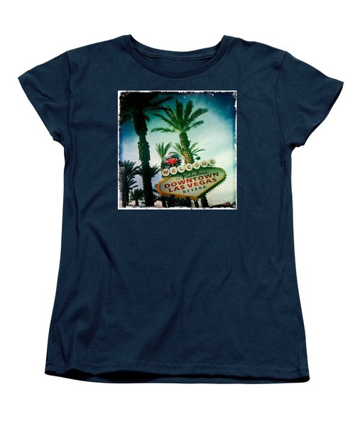 Vegas Women's T-Shirt (Standard Cut) by Nina Prommer
