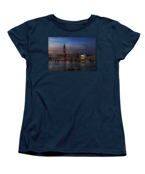 Venice By Night Women's T-Shirt (Standard Cut) by Hanny Heim