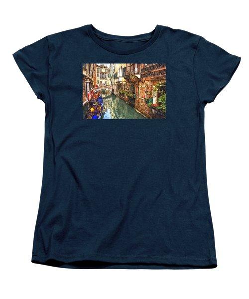 Venice Canal Serenity Women's T-Shirt (Standard Cut) by Gianfranco Weiss