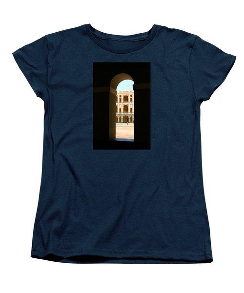 Ventana De Arco Women's T-Shirt (Standard Cut) by The Art of Alice Terrill