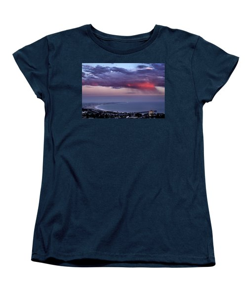Women's T-Shirt (Standard Cut) featuring the photograph Ventura Beach by Michael Gordon
