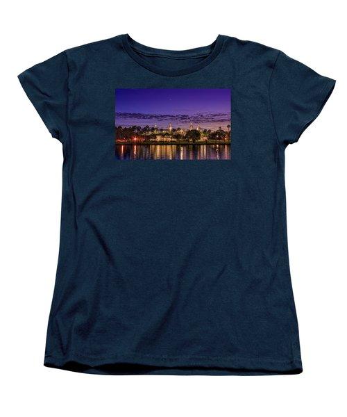 Venus Over The Minarets Women's T-Shirt (Standard Cut) by Marvin Spates
