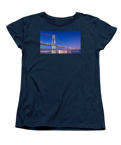 Verrazano Bridge Before Sunrise  Women's T-Shirt (Standard Cut)