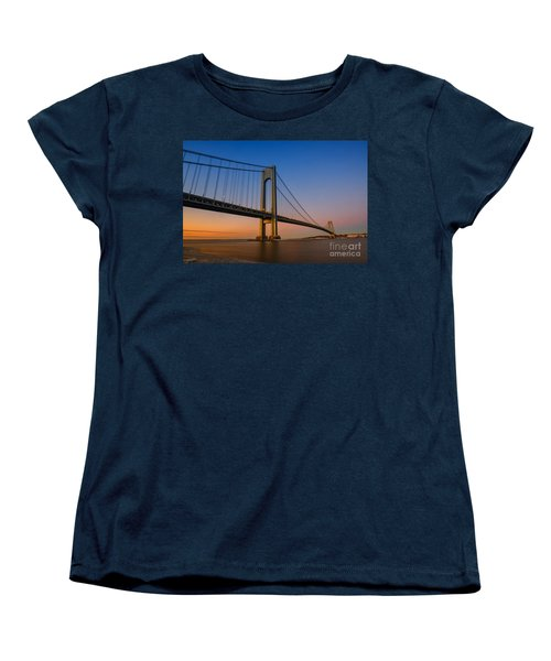 Verrazano Bridge Sunrise  Women's T-Shirt (Standard Cut)