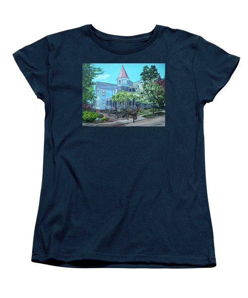 Victorian Greenville Women's T-Shirt (Standard Cut) by Bryan Bustard