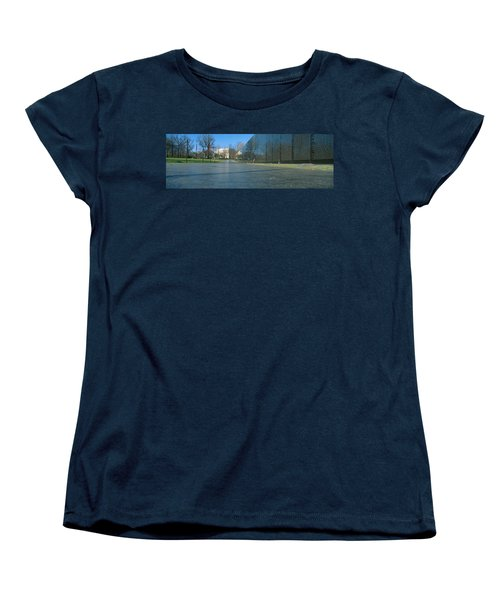 Vietnam Veterans Memorial, Washington Dc Women's T-Shirt (Standard Cut) by Panoramic Images