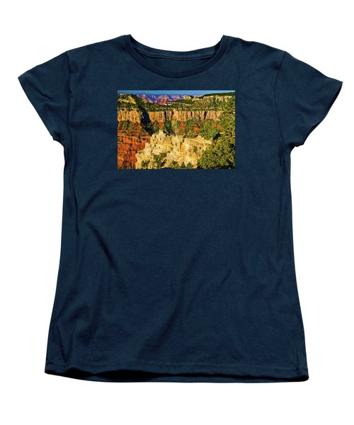 Women's T-Shirt (Standard Cut) featuring the photograph View From Angel Point  by Bob and Nadine Johnston