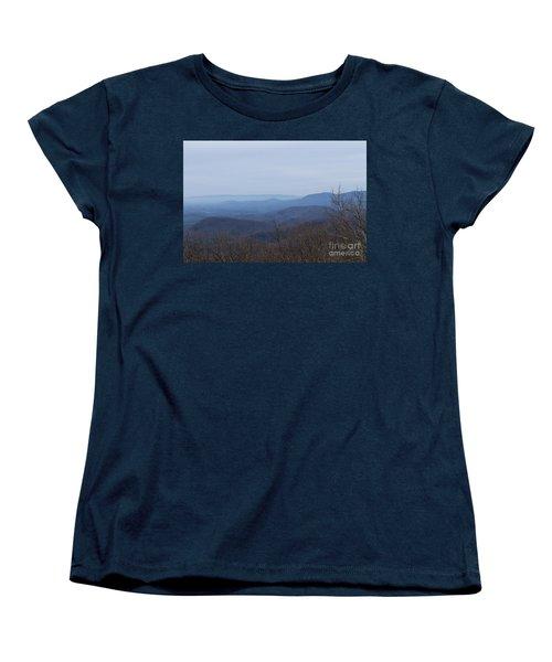 View From Springer Mountain Women's T-Shirt (Standard Cut)