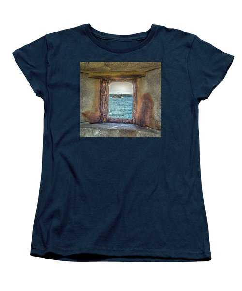 Women's T-Shirt (Standard Cut) featuring the photograph View From The Fort by Jane Luxton