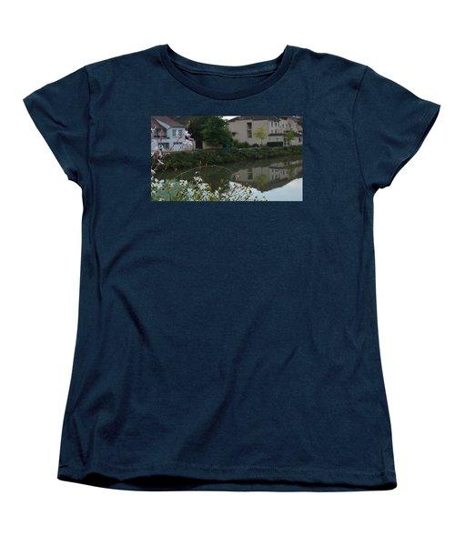 Village Life Women's T-Shirt (Standard Cut) by Cheryl Miller