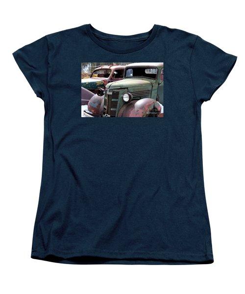 Women's T-Shirt (Standard Cut) featuring the photograph Vintage by Fiona Kennard