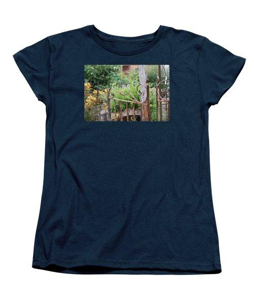 Vintage Gate Women's T-Shirt (Standard Cut) by Debi Demetrion